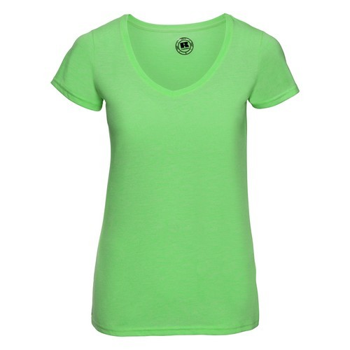 CAMISETA HD COLLECTION DE MUJER CUELLO V REF R166F RUSSELL