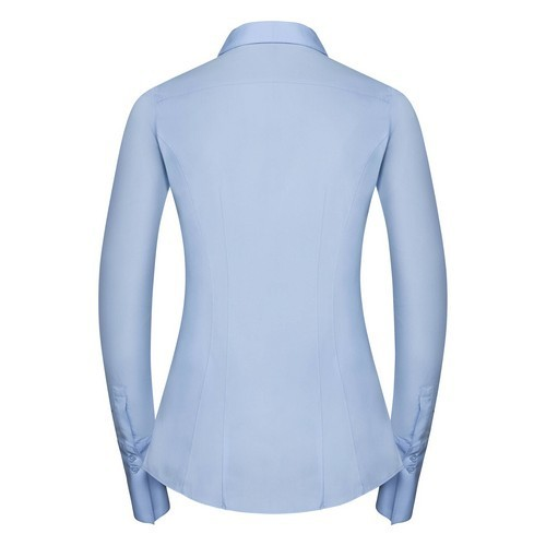 CAMISA STRETCH ULTIMATE MANGA LARGA DE MUJER REF R960F RUSSELL