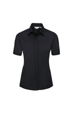 CAMISA STRETCH ULTIMATE MANGA CORTA DE MUJER REF R961F RUSSELL